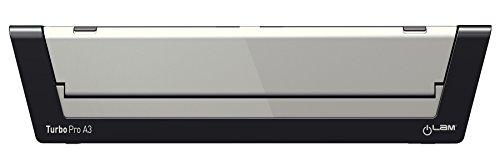 Leitz A3 Laminiergerät, Touch Turbo Pro, Inkl. Laminierfolien Starterkit, Ideal für Büro und Schule, Silber, iLam, 75190000