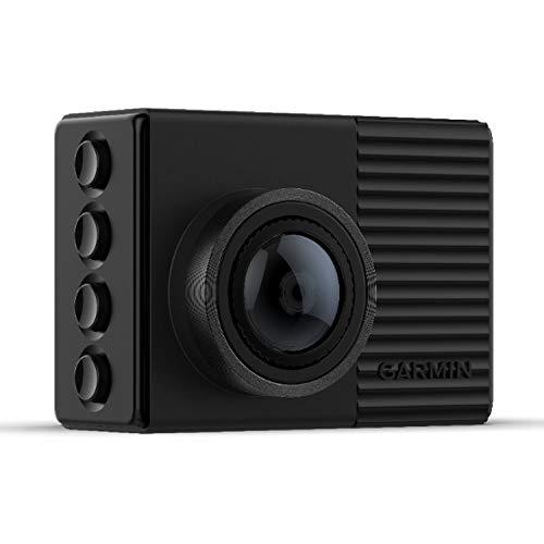 """Garmin DashCam 66W– kompakte Dashcam mit 2"""" (5,1 cm) Farbdisplay, extraweitem 180° Bildwinkel, speziellem Nacht-Modus & HD-Aufnahmen in 1440p; automatische Speicherung von Unfallvideos inkl. GPS-Daten"""