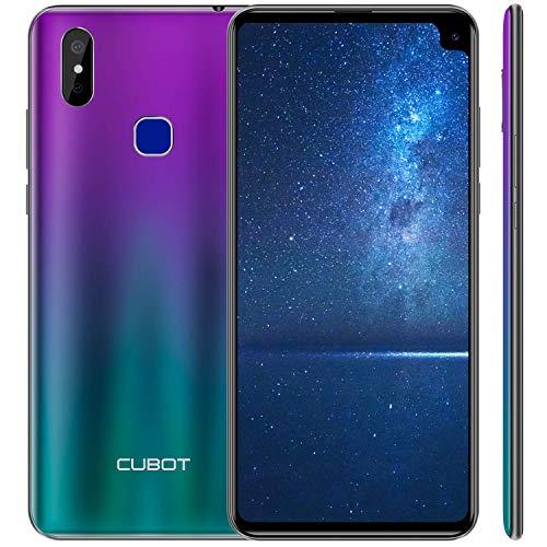 CUBOT Max 2 4G Dual SIM Smartphone ohne Vertrag, 6.8 Zoll HD Display (Corning® Gorilla® 5 Glas) mit 5000 mAh Akku, 4GB Ram+64GB interner Speicher, Android 9.0, Gradient (Generalüberholt)