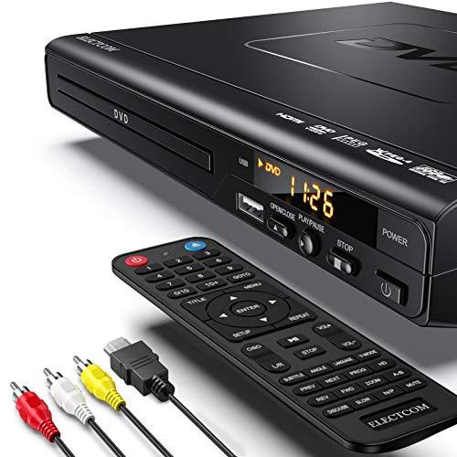 DVD Player, CD-Player, DVD Player HDMI, Mini DVD Player, DVD Player für Fernseher, Region Free DVD Player, DVD Player HDMI Anschluss